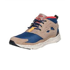 Reebok FURYLITE Mens Seasonal Outdoor Sneakers Blue Brown Shoes NEW AUTHENT