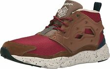 Reebok FURYLITE Mens Seasonal Outdoor Sneakers Burgundy Shoes NEW AUTHENTIC