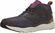 Reebok FURYLITE Mens Seasonal Outdoor Sneakers Grey Brown Shoes NEW AUTHENT