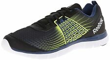 Reebok Z Dual Rush Mens Running Shoes Athletic Sneakers Black Yellow M47681