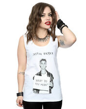 Justin Bieber Donna What Do You Mean Canotta