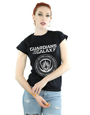 Marvel Donna Guardians of the Galaxy Logo Seal Maglietta