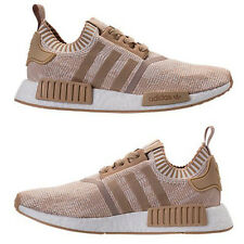 ADIDAS NMD R1 RUNNER PRIMEKNIT CASUAL MEN's LINEN KHAKI - OFF WHITE AUTHENT