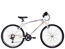 "Tiger Hazard 26"" Wheel Mens 18-Speed Revoshift Mountain Bike - White"