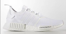 Adidas NMD R1 PK Japan Triple White Primeknit New Men Size 8.5-10.5