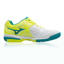 Mizuno Wave Exceed Tour 2 All Womens White Yellow Court Tennis Shoes Pumps