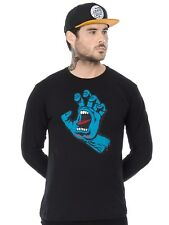 Santa Cruz Black Screaming Hand Long Sleeved T-Shirt