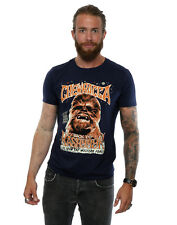 Star Wars Herren Chewbacca Rock Poster T-Shirt