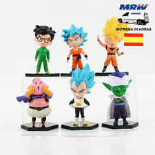 Figuras Dragon Ball Z (Lote 6 Figuras) + Camiseta REGALO