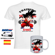 Camiseta Training To GO GOKU Dragon Ball + TAZA GOKU
