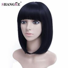Black Bob Wig Short Synthetic Wigs For Women Heat Resistant Synthetic Hairs