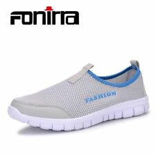 Men Casual Shoes Breathable Mesh Casual Sneakers Size Slip On Loafers Outdoors