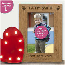 Personalised My First 1st Day School Nursery ENGRAVED Photo Frame Gift Keepsake