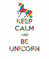 UNICORN #B iron-on transfer. A4 or A5 Perfect for T-Shirts