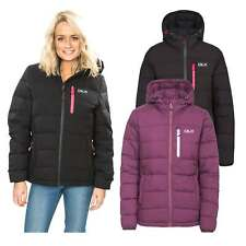 Trespass Zuri DLX Womens Down Padded Jacket Hooded Winter Warm Puffer Coat