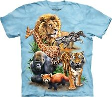 The Mountain Unisex Child Zoo Collage Zoo T Shirt