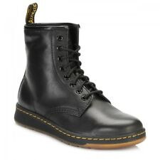 Dr. Martens Black Newton 8 Eye Boots