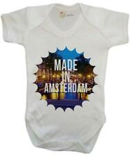 Made In Amsterdam Baby Vest / Baby Grow / Baby Playsuit