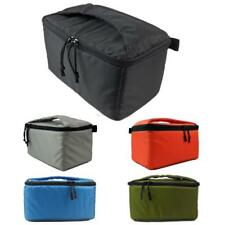 Water-resistant DSLR Padded insert Case Zipper Removable Partition Camera Bag