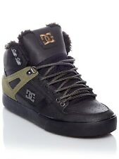 DC Black-Olive Spartan High WC Winterized - Sherpa Lined Shoe
