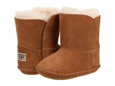 NEW UGG CADEN CHESTNUT BOOTIES  TODDLER INFANT BABY CRIB AUTHENTIC 1005198I