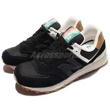 New Balance WL574SEC B Global Surf Black White Gum Women Classic Shoes WL574SECB