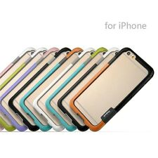 Attractive Stylish Protective Trio Series Walnutt Bumper for Apple Iphone 6 6s