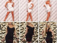 Sexy New One shoulder Party Clubwear Evening Party Cocktail Mini Dress-2 Colours