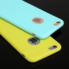 Case For iPhone 6 Candy Colors TPU Silicon Phone Cases For iPhone 7 7 Plus Shell