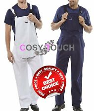 Trendy Bib and Brace Overalls Painters Decorators Coveralls Dungarees DIY New