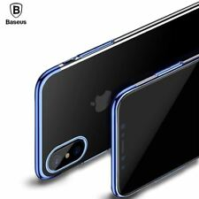 Case iPhone 8 Ultra Thin Plating Glossy Hard PC Back Cover Case Shell Pouch