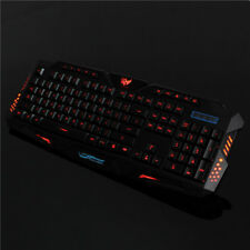 M200 USB 3 COLORS LED BACKLIT WIRED GAMING KEYBOARD
