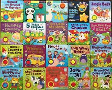 baby/kids Sound books Collection Famous Nursery Rhymes NEW!!!!!