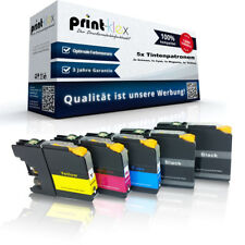 5x Cartuchos de tinta compatibles para Brother lc-121/lc-123 XXL kit-drucker