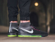 NIKE ZOOM ALL OUT FLYKNIT Running Trainers Shoes Gym - Black - Various Sizes