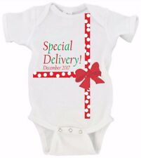 Special Delivery Christmas Baby's First Christmas Onesie Baby Announcement