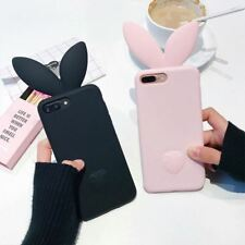 3D Rabbit Ear Case iPhone 6 5s 7plus Soft Silicon Cases Mobile Back Cover Sale