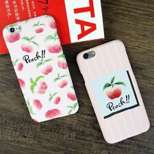 Fruit Fitted Case iphone 5S 6S 7 Plus Hard PC Phone Cases Back Cover Shell Sale