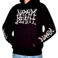 NAPALM DEATH Kapuzenpullover/Hoodie M/L Carcass/Bolt Thrower/Benediction/Nasum