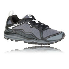 Merrell All Out Crush Light Womens Grey Black Trail Running Shoes Trainers