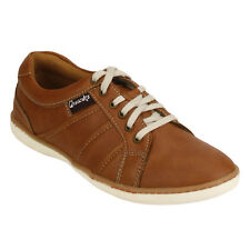 Quarks Tan Casual Lace up Shoes for Men (J1116TN)