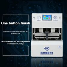 """5-in-1 12"""" LCD Vacuum OCA Automatic Laminating&Bubble Removing Machine 220V HE"""