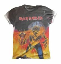 "Iron Maiden "" Number of the Beast "" ( Sublimación Print )Camiseta 105885 #"