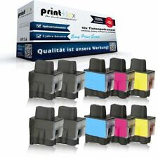10x Alternativa Cartuchos de tinta para BROTHER LC 900 Kit impresora -easy print