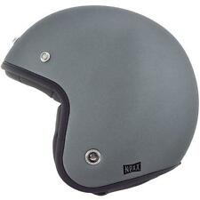 Nexx X.G10 Purist CASCO - Mate Gris Abierto Casco de Scooter
