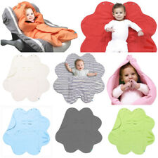 Wallaboo Fleur Soft Baby Wrap Blanket Cosytoes Buggy Car Seat Playmat Cotton