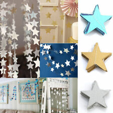 4M Star Paper Garland Bunting Home Wedding Party Banner Hanging Decoration SP