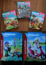 Playmobil Special Plus Pirate 4783,Chevalier 5409,Fille+Chevres 4785, 5376, 9084