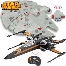Star Wars MILLENNIUM FALCON POE DAMERON X-WING FIGHTER RC CAR Light + Sound