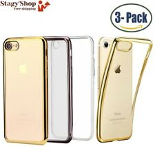 [3-Pack ] Mosee® Coque pour iPhone 7, Etui Ultra Mince et Clair en TPU...